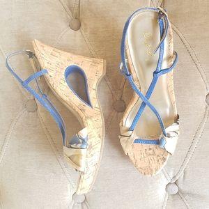 Quipid Key Hole Wedge Sandals